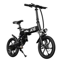 ADO Electric Bicycle A16 (black) Электровелосипед