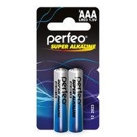 Perfeo LR03 2BL mini Super Alkaline Батарейка