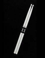 Leonty LW5BW 5B Барабанные палочки, граб, деревянный наконечник, белые