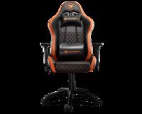Cougar Rampart black/orange Кресло геймерское