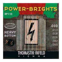THOMASTIK Power Brights Heavy Bottom RP110 Струны для электрогитары