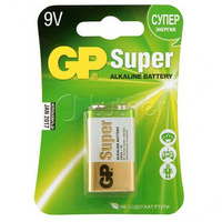 GP GP1604AU-5CR1 Ultra Элемент питания «Крона» алкалиновый
