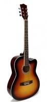 Foix FFG-1039SB Акустическая гитара, санберст, с вырезом