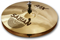 SABIAN 14`` AAX STAGE HATS BRILLIANT