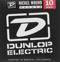 Dunlop DEN1046 Комплект струн для электрогитары, никелированные, Medium, 10-46