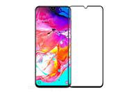 FUMIKO Защитное стекло для Samsung Galaxy A70 3D черное пакет