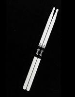 Leonty LW2BW 2B Барабанные палочки, граб, деревянный наконечник, белые