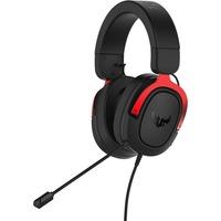 ASUS TUF Gaming H3 Игровые наушники чёрно-красные