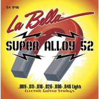 La Bella SA946 Super Alloy 52 Комплект струн для электро-гитары