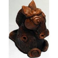 Керамика Щипановых SM12 Свистулька маленькая Лошадь