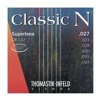 Thomastik CR127 Classic N Комплект струн для акустической гитары, нейлон/посеребренная медь 027-043