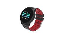 Qumann QSW 01 Black+Red (Q-15011) Смарт часы