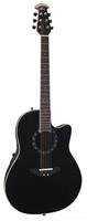 OVATION 2771AX-5 Standard Balladeer® - Deep Contour Cutaway Black гитара электроакустическая