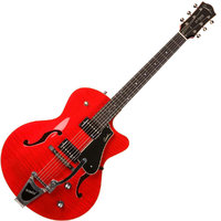 Godin 035182 5th Avenue Uptown Tr Red GT w/Bigsby Электрогитара арктоп, с футляром