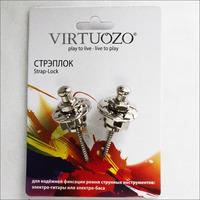 VIRTUOZO 11212 Стрэплок замок для ремня, цвет хром