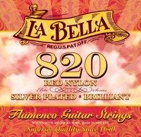 La Bella 820 Flamenco Red Cтруны для классической гитары фламенко