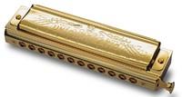Tombo 1248SG-C Unichromatic С Губная гармошка, золото