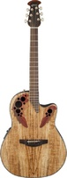 OVATION CE44P-SM Celebrity Elite Plus Mid Cutaway Natural Spalted Maple Электроакустическая гитара