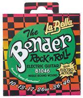 La Bella B1046 The Bender Regular Комплект струн для электрогитары, никелированные, 10-46