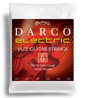 DARCO D9100 JAZZ НАБОР 6 СТРУН для гитары Электрик