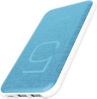 GOLF G24/ POWERBANK 5000 MAH + MICRO USB, LIGHTING /OUT USB 1 А, 2.1A/ BLUE АККУМУЛЯТОР