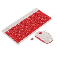 Smartbuy 220349AG (SBC-220349AG-RW) Набор клавиатура+мышь беспроводной классическая белый красный (1/20)