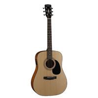 Parkwood W81E-OP Электро-акустическая гитара, с чехлом