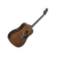 GregBennett D1 - Акустическая гитара, dreadnougnt, анкер, ключ.(Индонезия)