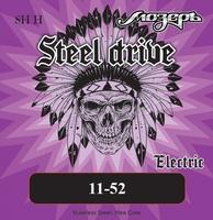 Мозеръ SH-H Steel Drive Комплект струн для электрогитары, сталь, 11-52