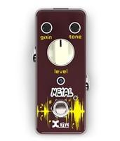 XVIVE V3 Metal Педаль эффектов гитариста, мини-корпус