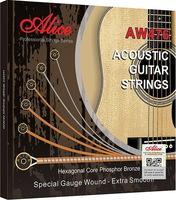 Alice AW476-CL Комплект струн для акустической гитары, фосфорная бронза, 12-52