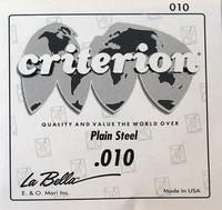 La Bella CPS010 Отдельная 1-я струна, сталь, 010