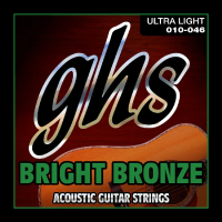 GHS STRINGS BB10U BRIGHT BRONZE (70549)