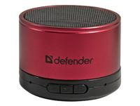 Defender Wild Beat Акустическая 1.0 система, красный, портативная, 3 Вт