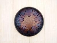 Глюкофон 40см, гравировка «Гороскоп», полукруглые лепестки