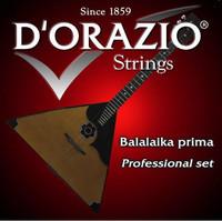 D'ORAZIO BAP Струны для балалайки прима (Пр-во Италия) (30pl-86-86) 3 струны