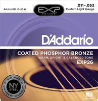 D'ADDARIO EXP26 Набор 6 струн для гитары акустик