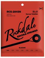 ROCKDALE RCS-2845N Струны для классической гитары. Основа струны: нейлон. Обмотка: посеребрённая. Натяжение: нормальное. Размер: 028-045 (A062149)
