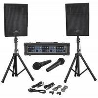 Peavey Audio Performer Pack ПОРТАТИВНАЯ ДВУХПОЛОСНАЯ АКУСТИЧЕСКАЯ СИСТЕМА