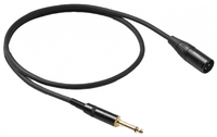 ALPHA AUDIO XLR(п) x mono jack (6м) кабель микрофонный