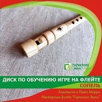 Гармония Звука ГЗУД001 Учебник + диск с видеоуроками по Сопели