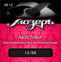 МозерЪ AS 12 - Сталь ФРГ + Посеребренная фосфорная бронза (.012-054)