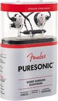 FENDER PureSonic Wired earbud Olympic Pearl внутриканальные наушники с гарнитурой, цвет жемчужный белый