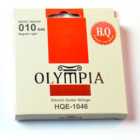OLYMPIA HQE-1046 Nickel Wound 10-46 струны для электрогитары, никель