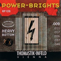 Thomastik RP109 Power-Brights Heavy Bottom Комплект струн для электрогитары, 9-46