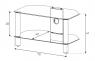 Sonorous NEO 270 B HBLK Подставка