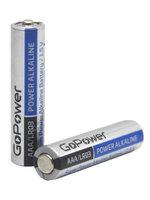 GoPower LR03 AAA BL4 Alkaline 1.5V (00-00015602) Батарейка (4/48/576)