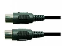 Schulz DIN 3 — 6 м немецкий запрессованный шнур MIDI, 4 жилы + экран