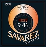 Savarez H50L Hexagonal Explosion Light, струны для электрогитары 10-46, никелевое покрытие