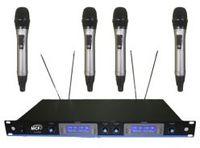 MCF U-6600 – вокальная радиосистема UHF диапазона с четырьмя ручными микрофонами